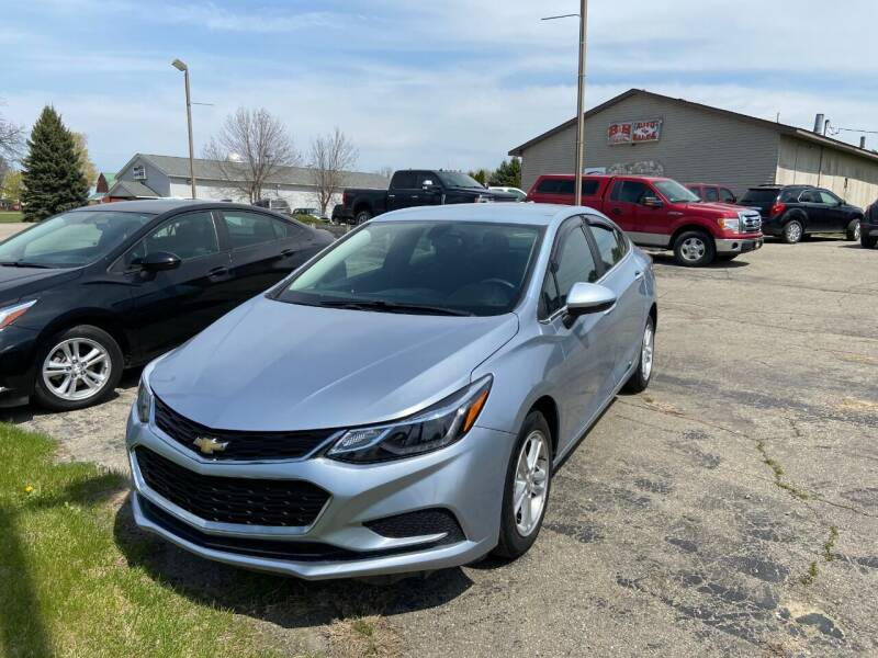 2017 Chevrolet Cruze for sale at B & B CLASSY CARS INC in Almont MI