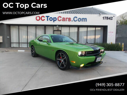 2011 Dodge Challenger for sale at OC Top Cars in Irvine CA