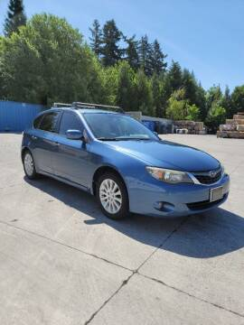 2009 Subaru Impreza for sale at RICKIES AUTO, LLC. in Portland OR