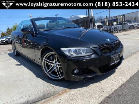 2013 BMW 3 Series for sale at Loyal Signature Motors Inc. in Van Nuys CA