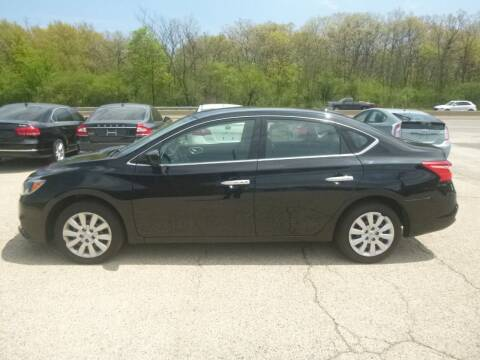 2016 Nissan Sentra for sale at NEW RIDE INC in Evanston IL