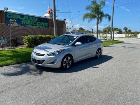 2015 Hyundai Elantra for sale at Galaxy Motors Inc in Melbourne FL