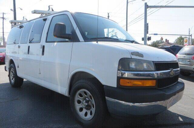 2010 Chevrolet Express Passenger for sale at Eddie Auto Brokers in Willowick OH
