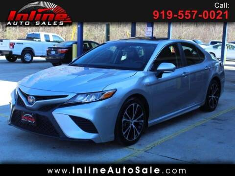 2018 Toyota Camry Hybrid for sale at Inline Auto Sales in Fuquay Varina NC