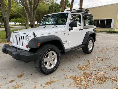2012 Jeep Wrangler for sale at Ultimate Dream Cars in Wellington FL