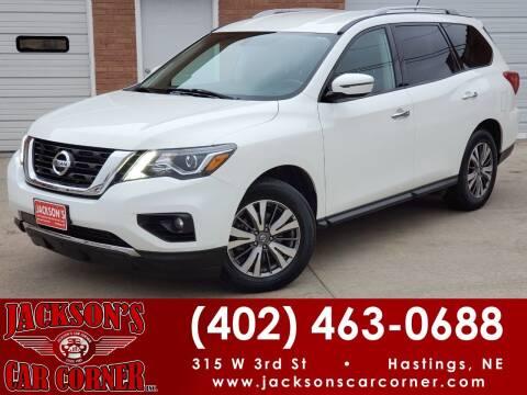 2018 Nissan Pathfinder for sale at Jacksons Car Corner Inc in Hastings NE