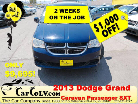 2013 Dodge Grand Caravan for sale at The Car Company in Las Vegas NV