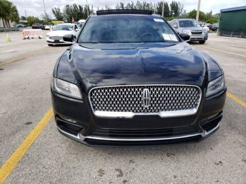 2017 Lincoln Continental for sale at Auto Finance of Raleigh in Raleigh NC