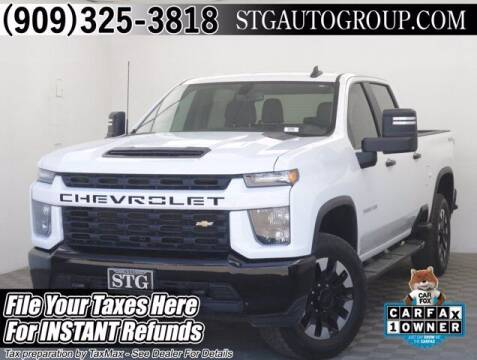 2020 Chevrolet Silverado 2500HD for sale at STG Auto Group in Montclair CA