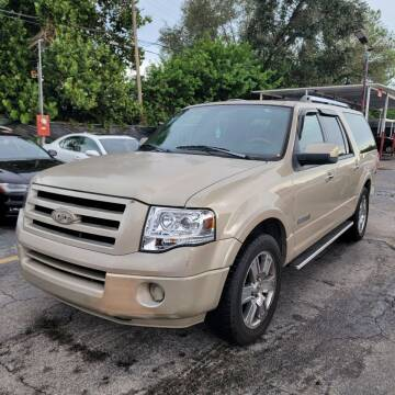2007 Ford Expedition EL for sale at America Auto Wholesale Inc in Miami FL