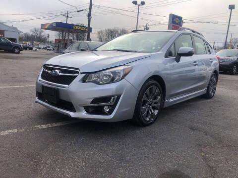 2015 Subaru Impreza for sale at SuperBuy Auto Sales Inc in Avenel NJ