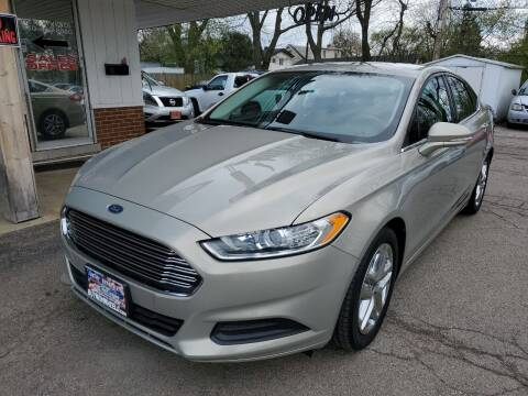 2015 Ford Fusion for sale at New Wheels in Glendale Heights IL
