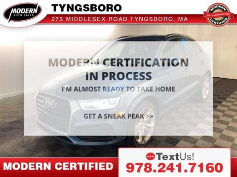 2018 Audi Q3 for sale at Modern Auto Sales in Tyngsboro MA