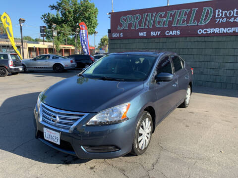 2014 Nissan Sentra for sale at SPRINGFIELD BROTHERS LLC in Fullerton CA