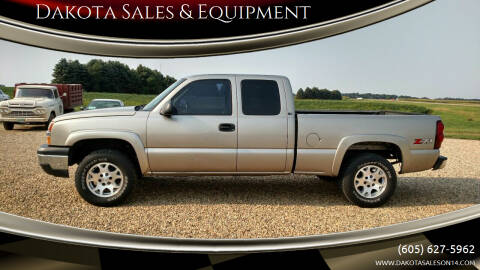 2003 Chevrolet Silverado 1500 for sale at Dakota Sales & Equipment in Arlington SD