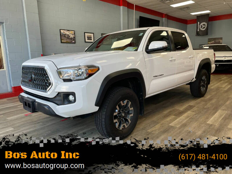 2018 Toyota Tacoma for sale at Bos Auto Inc in Quincy MA