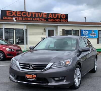 2014 Honda Accord for sale at Executive Auto in Winchester VA