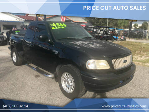 2001 Ford F-150 for sale at Price Cut Auto Sales in Orlando FL