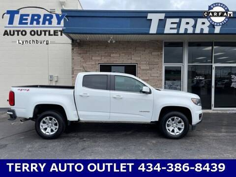 2017 Chevrolet Colorado for sale at Terry Auto Outlet in Lynchburg VA