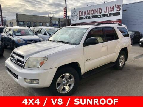 2005 Toyota 4Runner for sale at Diamond Jim's West Allis in West Allis WI