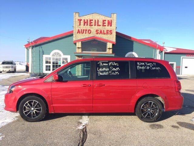 2016 Dodge Grand Caravan for sale at THEILEN AUTO SALES in Clear Lake IA