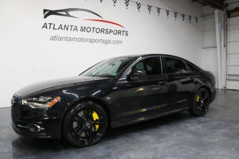 2013 Audi S6 for sale at Atlanta Motorsports in Roswell GA