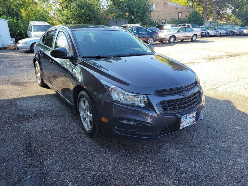 2016 Chevrolet Cruze Limited for sale at New Wheels in Glendale Heights IL