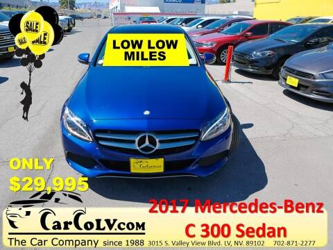 2017 Mercedes-Benz C-Class for sale at The Car Company in Las Vegas NV