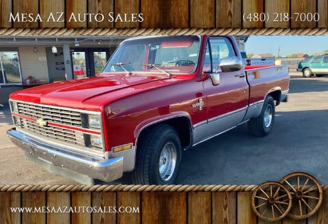 1983 Chevrolet C/K 10 Series for sale at Mesa AZ Auto Sales in Apache Junction AZ
