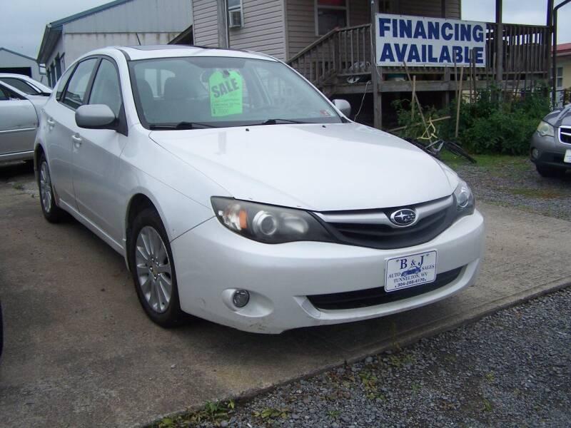 2011 Subaru Impreza for sale at B & J Auto Sales in Tunnelton WV