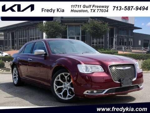 2018 Chrysler 300 for sale at FREDY KIA USED CARS in Houston TX