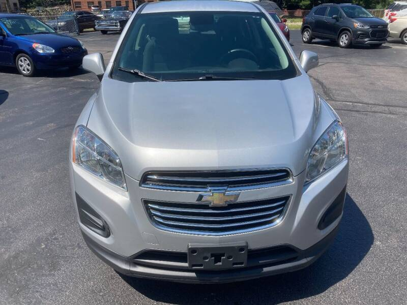 2016 Chevrolet Trax for sale at Old Time Auto Sales, Inc in Milford MA