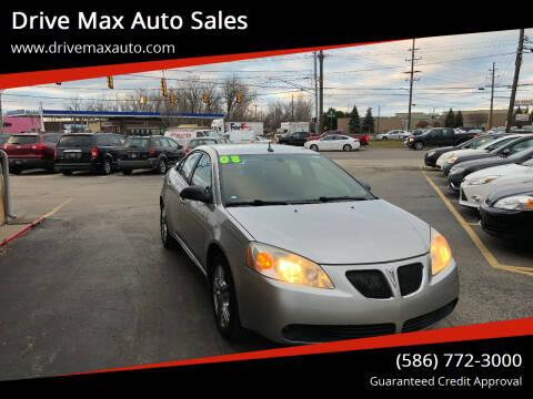 2008 Pontiac G6 for sale at Drive Max Auto Sales in Warren MI