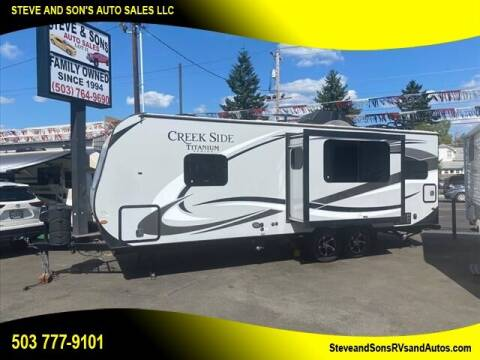 2017 Creekside 23 RKS for sale at Steve & Sons Auto Sales in Happy Valley OR