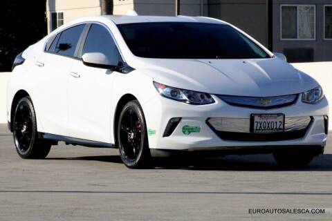 2017 Chevrolet Volt for sale at Euro Auto Sales in Santa Clara CA