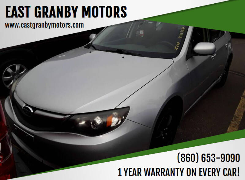 2010 Subaru Impreza for sale at EAST GRANBY MOTORS in East Granby CT