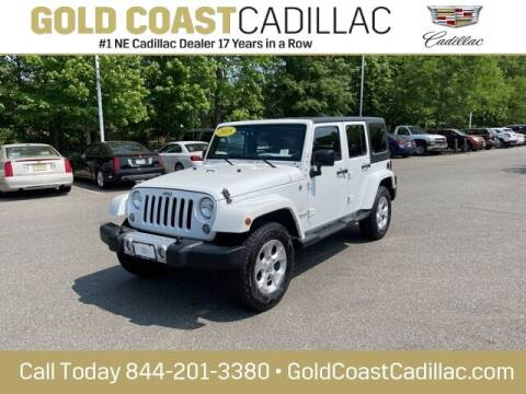 2015 Jeep Wrangler Unlimited for sale at Gold Coast Cadillac in Oakhurst NJ