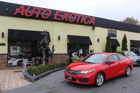 2014 Honda Civic for sale at Auto Exotica in Red Bank NJ