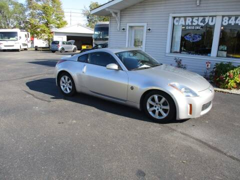 2005 Nissan 350Z for sale at Cars 4 U in Liberty Township OH