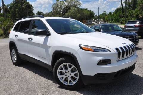 2017 Jeep Cherokee for sale at Elite Motorcar, LLC in Deland FL