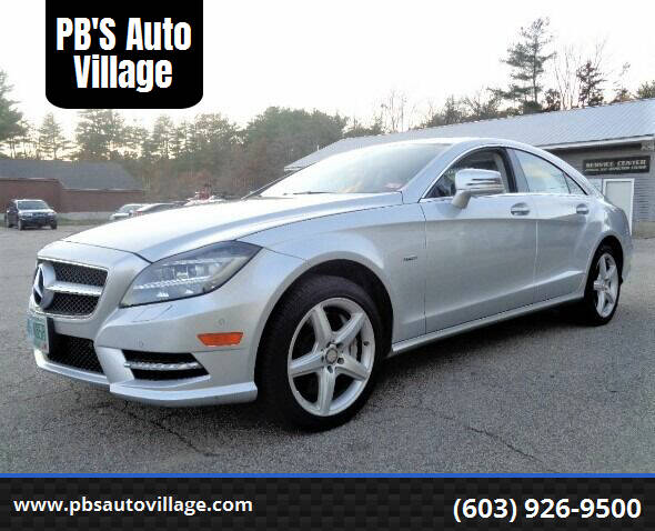 2012 Mercedes-Benz CLS for sale at PB'S Auto Village in Hampton Falls NH