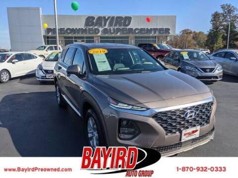 2019 Hyundai Santa Fe for sale at Bayird Truck Center in Paragould AR