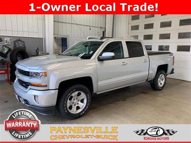 2018 Chevrolet Silverado 1500 for sale at Paynesville Chevrolet - Buick in Paynesville MN