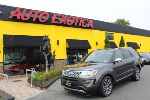 2017 Ford Explorer for sale at Auto Exotica in Red Bank NJ