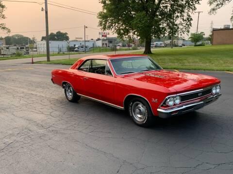 1966 Chevrolet Chevelle Malibu for sale at Dittmar Auto Dealer LLC in Dayton OH