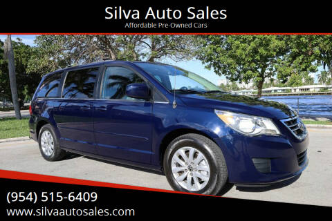2012 Volkswagen Routan for sale at Silva Auto Sales in Pompano Beach FL