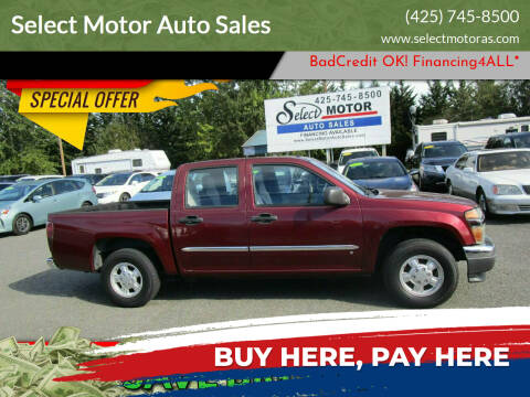 2007 Chevrolet Colorado for sale at Select Motor Auto Sales in Lynnwood WA