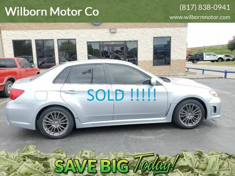 2013 Subaru Impreza for sale at Wilborn Motor Co in Fort Worth TX