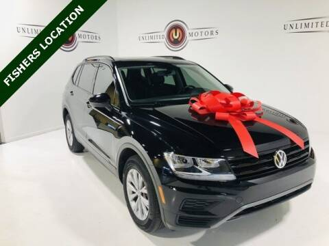 2018 Volkswagen Tiguan for sale at Unlimited Motors in Fishers IN