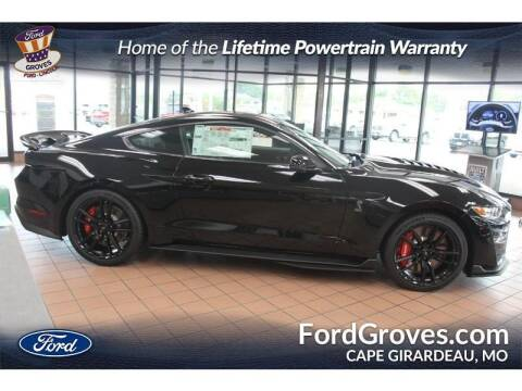 2021 Ford Mustang for sale at JACKSON FORD GROVES in Jackson MO